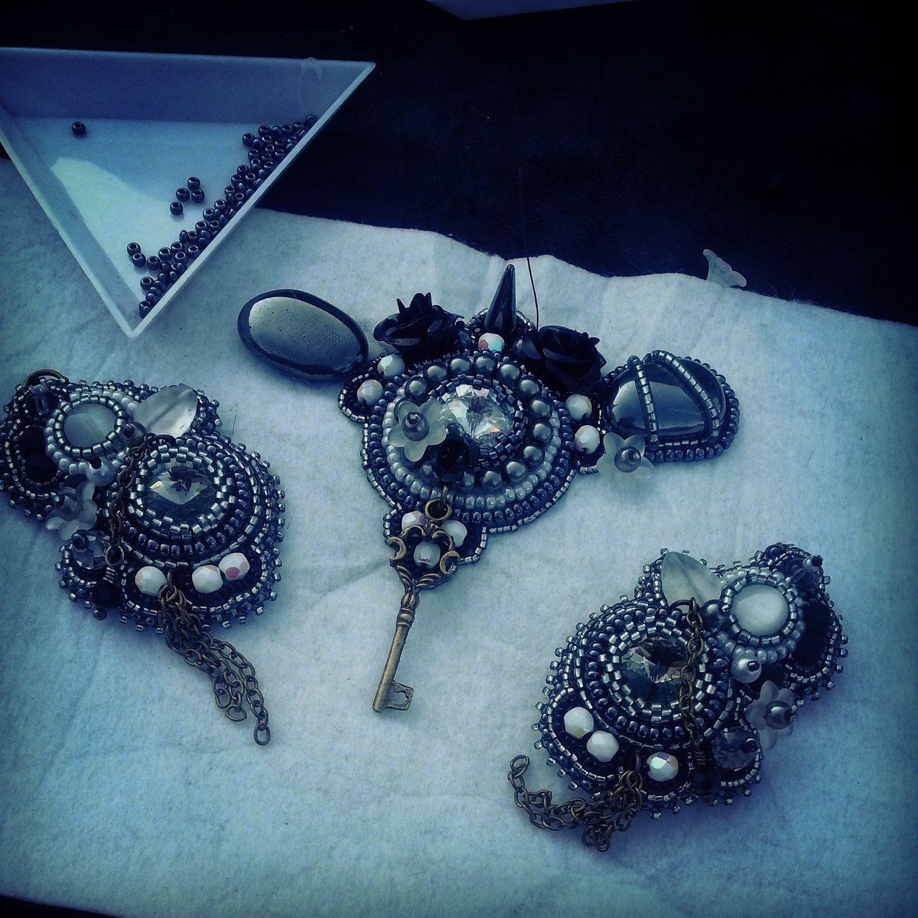 Perliges Geschmeide Handmade Jewelry Jewelrydesigner Jewelry Jewellery