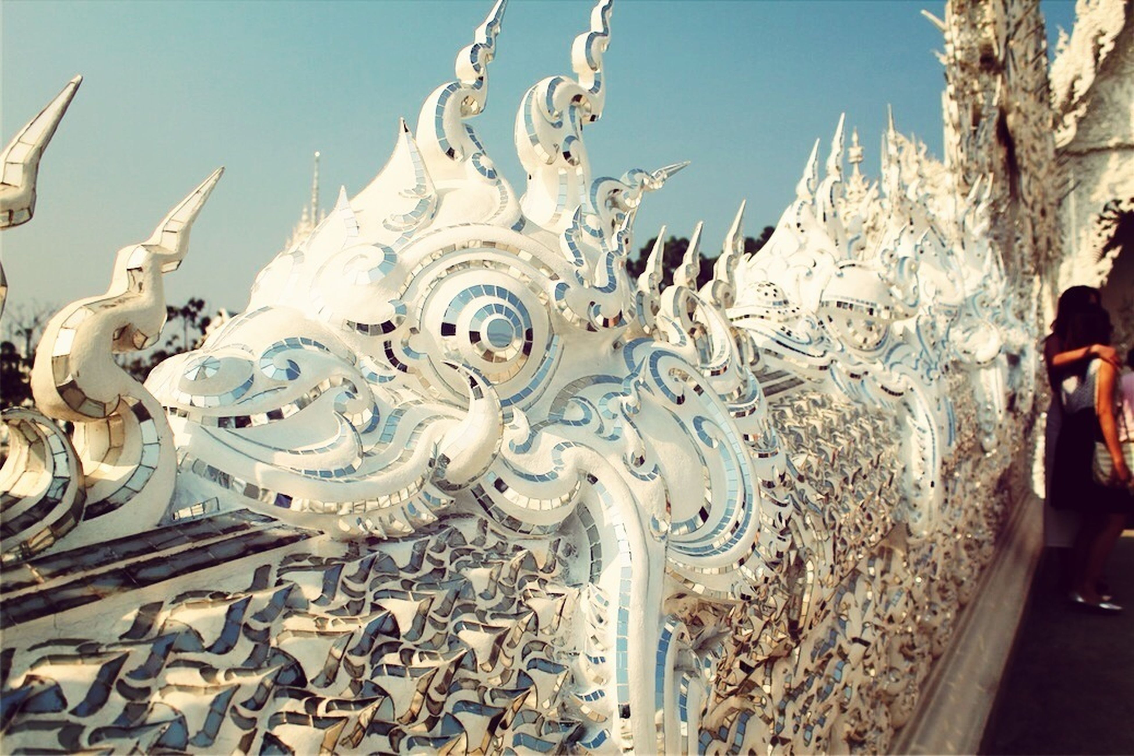 Temple Dragon Thailand Chang Rai