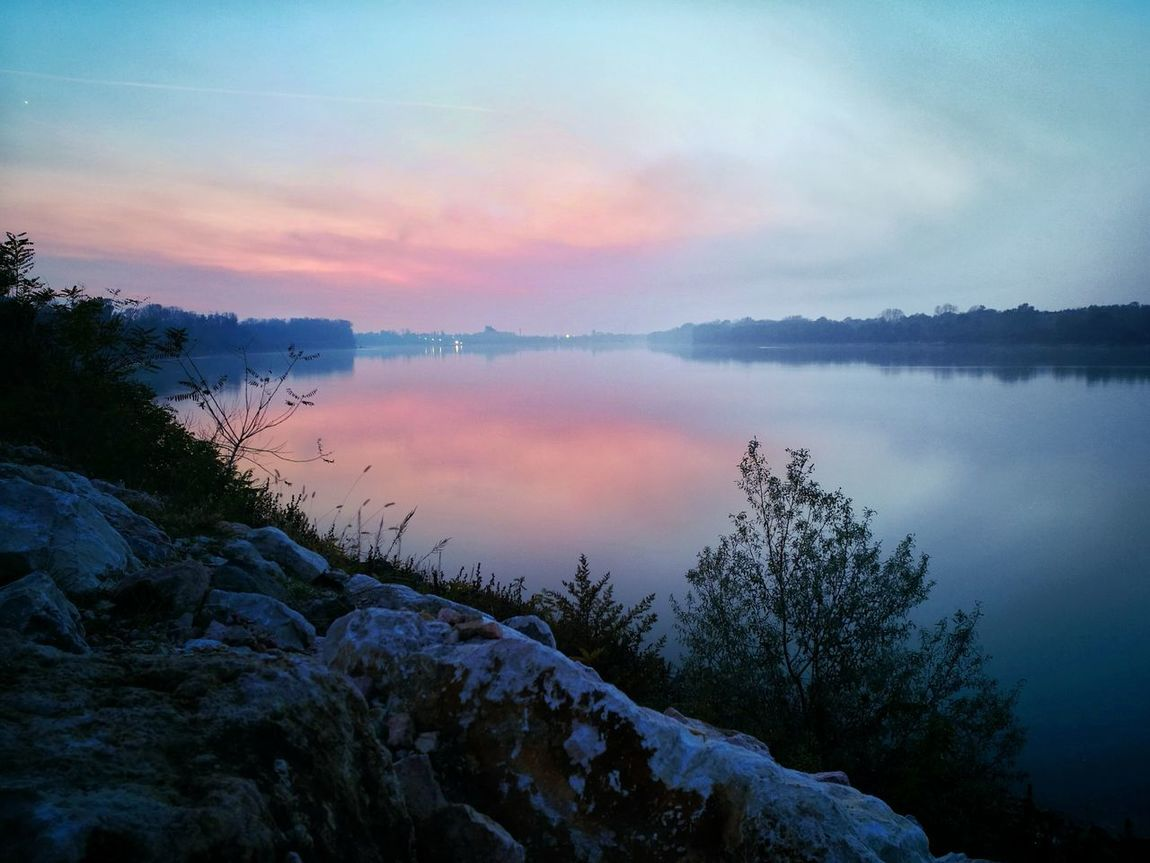 Suset Nature River Polarized Cold Landscape Silky Water