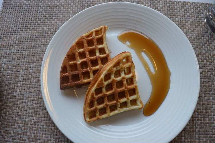 Food Foody Waffles Pamper Maple Plate Food And Drink Sweet Food Freshness Dessert Ready-to-eat High Angle View Table No People