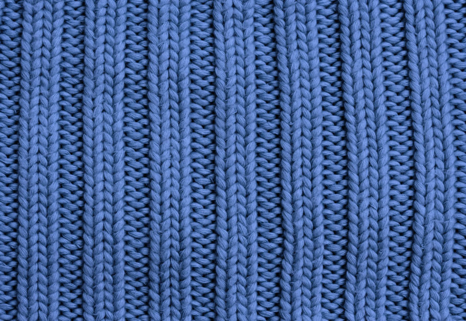 Close-up of a woolen pattern - knitting pattern with purls and knits Background Backgrounds Blue Casual Clothing Close-up Clothing Fashion Full Frame Handmade Homemade Knit Knitted  Knitting Knitwear Loop No People Pattern Striped Textile Textured  Textured  Textures And Surfaces Warm Clothing Wool Woolen