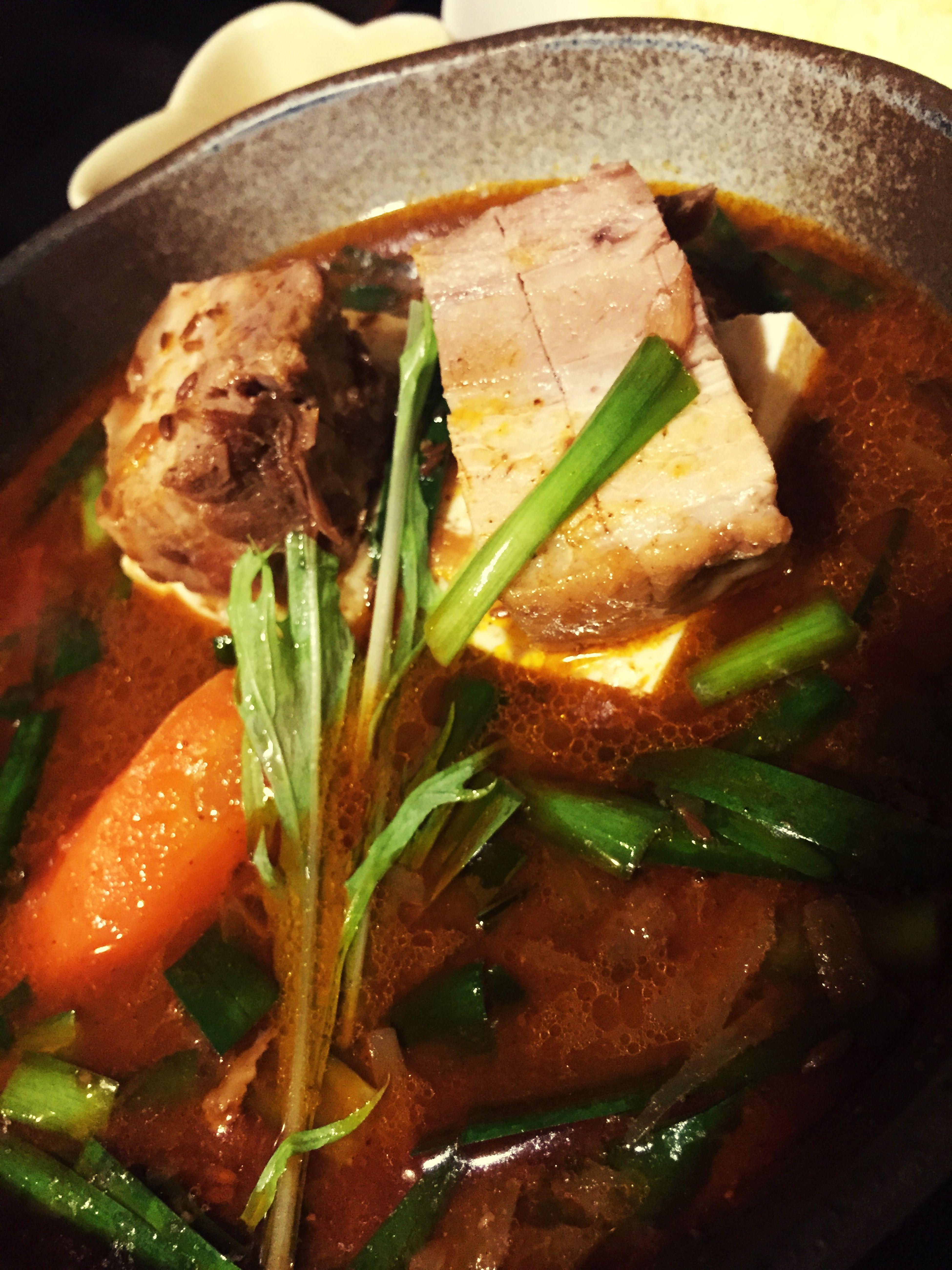 Sapporo Kotoni スープカレー Curry 角煮と豆腐 遅くまでやってるありがとう スタンプ貯めてみせる どんきーこんぐやりまくった後のご飯うますぎた
