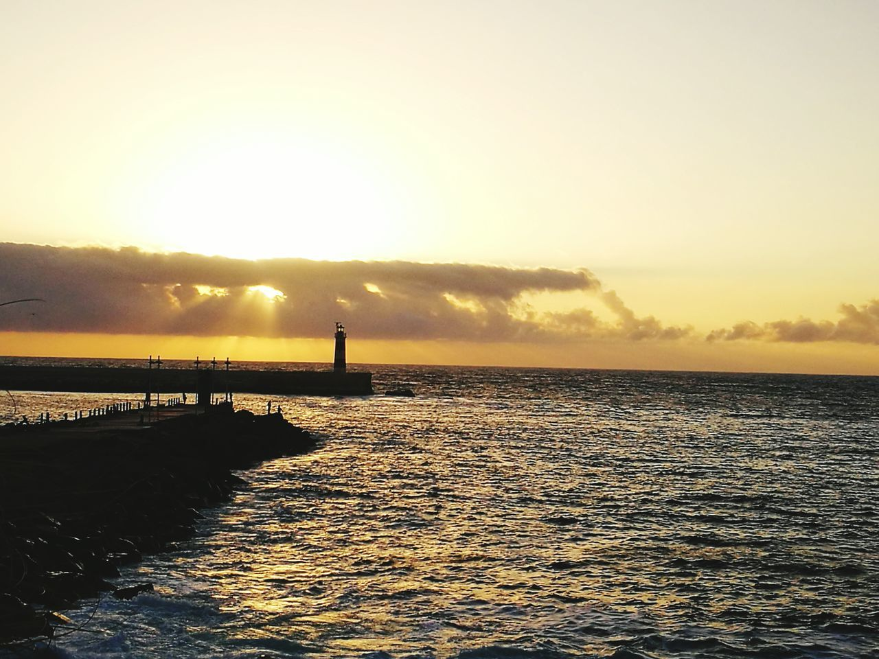 First Eyeem Photo Antofagasta Nature Blue Sky Sea Faro Lighthouse Sunset Beauty Beach