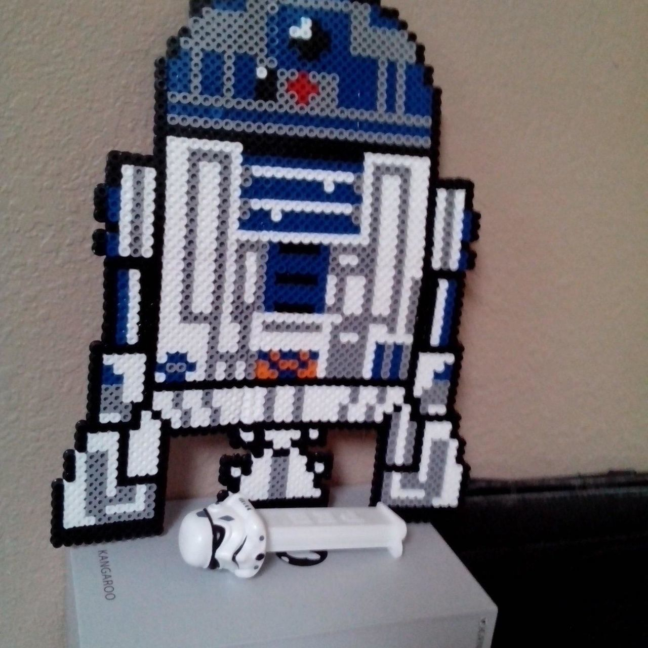Indoors  No People Close-up Skill  Day R2D2 Starwars Starwarstoys Beads Arts Crafts