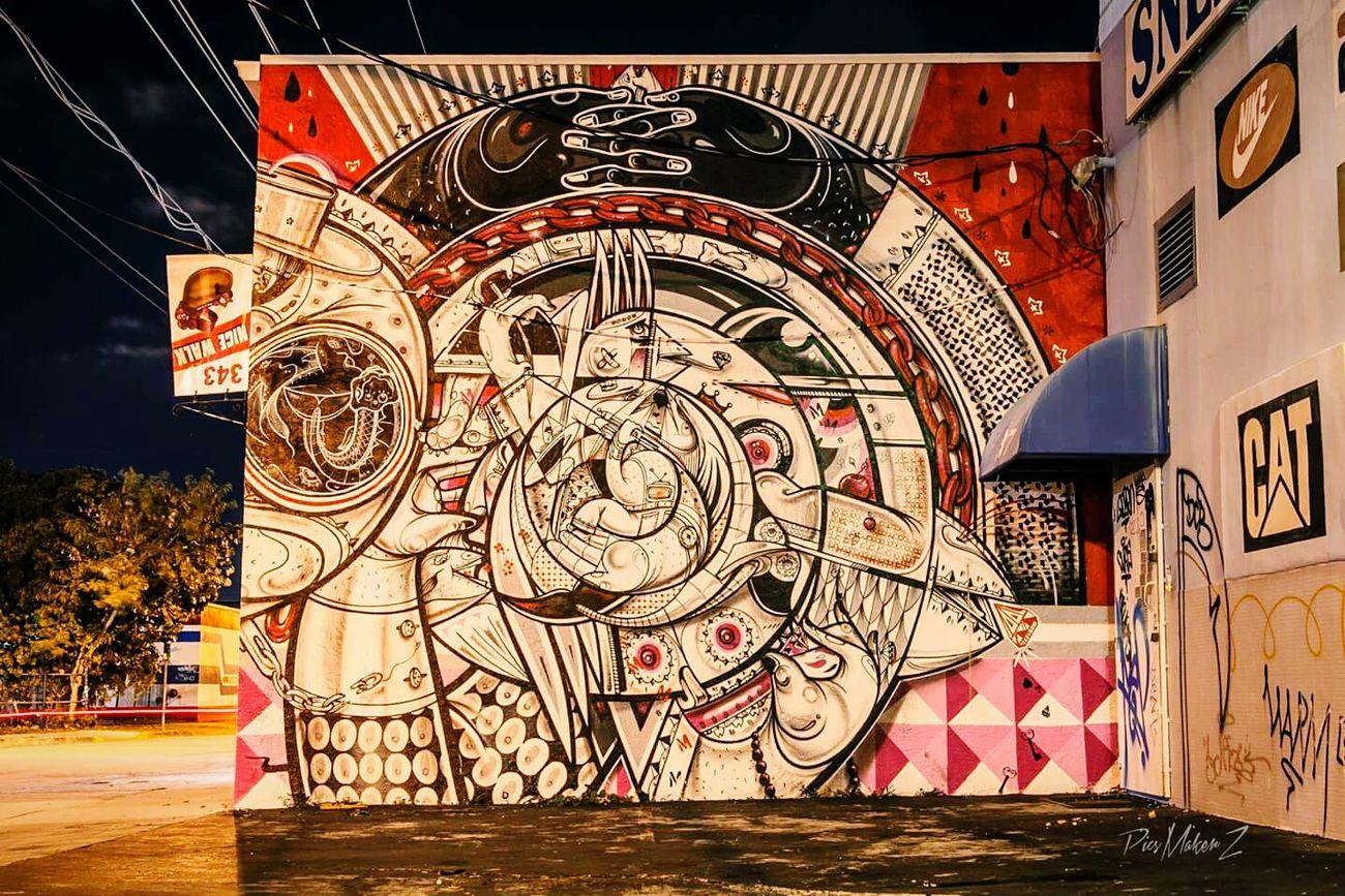 Streetart Graffiti Notes From The Underground Miami Streetphotography Urbanwalls Eyem Best Shots Eyem Best Edits Miami Wynwood Art Wynwood Walls