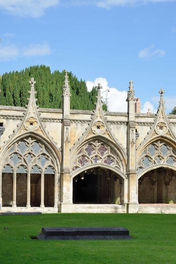 Cloisters of Canterrbury Cathedral Canterbury Catthedral Church Gothic Architecture Norman Arch Architecture Building Exterior Built Structure Cloisters  Gothic Church Outdoor Outdoors Place Of Worship Religion Spirituality