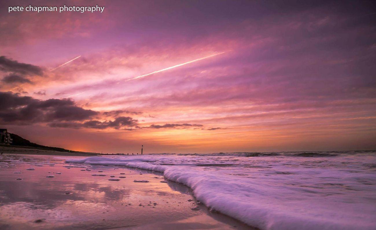Sunrise Sunrise_sunsets_aroundworld Boscombe Pier  Boscombe Dorset Foam