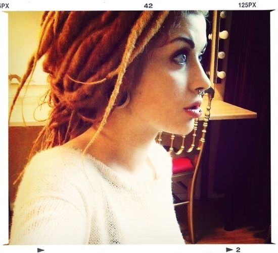 My dream girl that I am looking for! Cute white girl with dreadlocks!