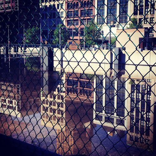 Mirrored Streets. Pivotal Ideas Mirror Effect Streetsarealive Littlewalkdowntown