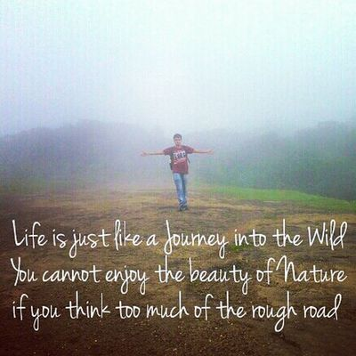 Nature Quote Life Wild wilderness happiness mountains quote @_bestquote @thegoodquote @quotes_ly quotes happinessquotes devlali deolali nashik nasik maharashtra anjanery nashikgram india @insta.lifequotes scenery