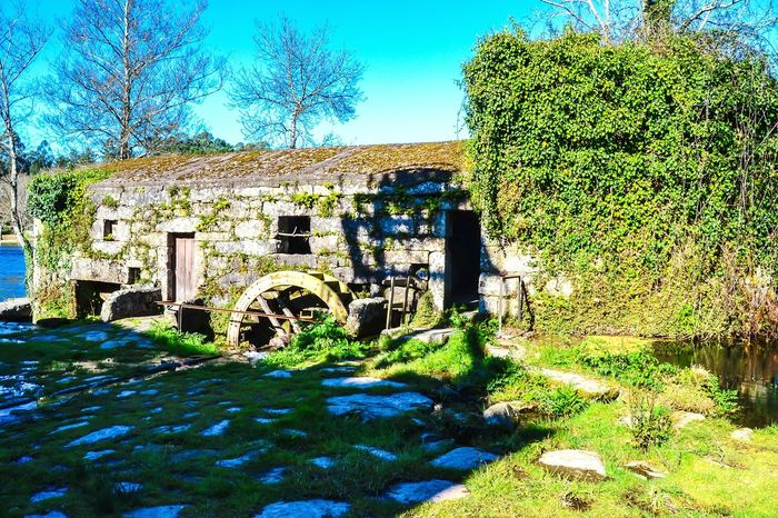 Old water Old Watermill  River Nature Landscape Sunshine Afternoon Relaxing Portugal Old Buildings OpenEdit