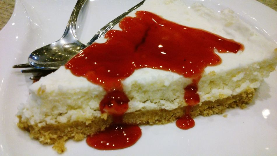 Spoiling myself with a Cheesecake bcsICan