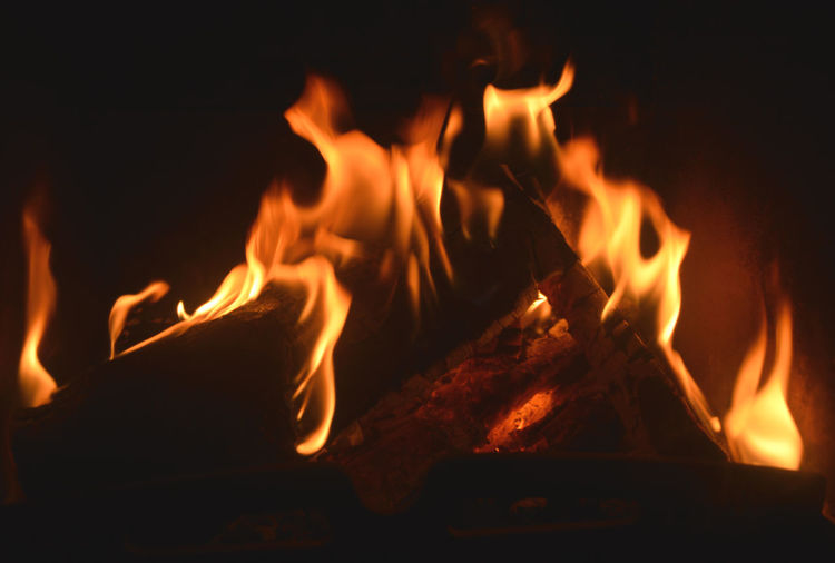 FIRE FLAME Black Burning Coal Fire Firewood Flame Flame Oven Heat Red Flamme