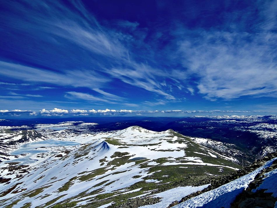 Beauty In Nature Blue Sky Cloud - Sky Cold Temperature Day Favorite Places Gaustatoppen, Norway Going Back Landscape Myhomeland MyTripMyAdventure Nature Outdoors Scenics Sea Sky Snow Telemark Trips Around The World Trips To Never Forget What A Day! What A Wonderful World