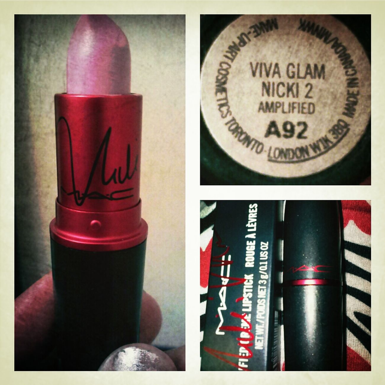 Loving My New #NickiVivaGlam2!!!!!