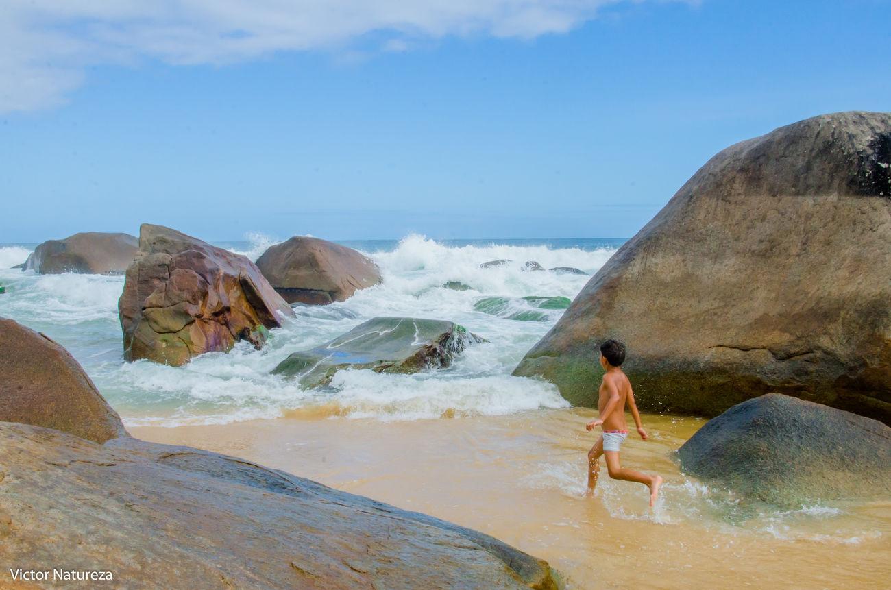 Water Beach Artefotografia Beauty In Nature Brasil Child Paz Paraty Kids Nature Vitaonatureza Brazil Victornatureza Travel Destinations Summer