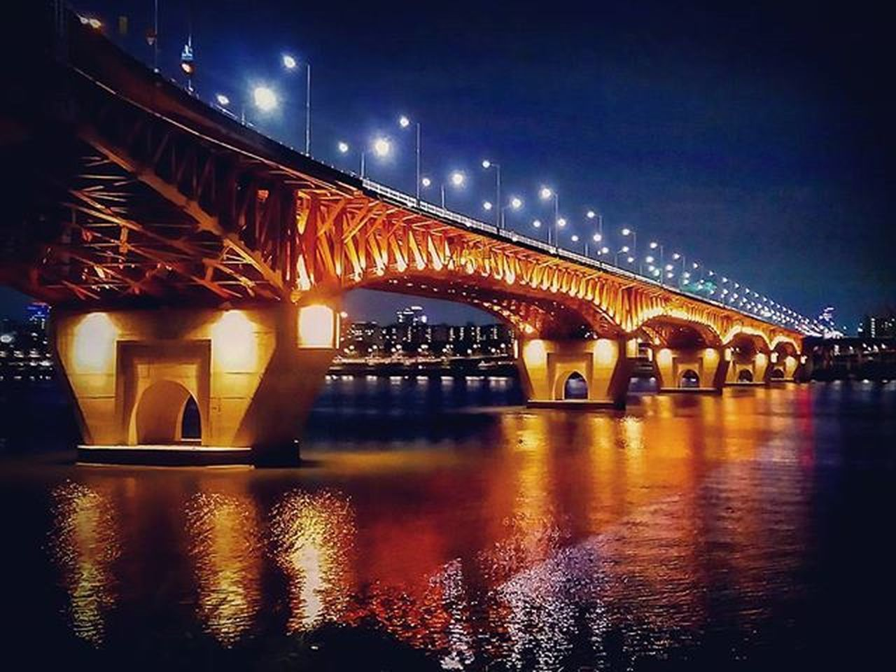 Bridge Nightphotography Seoul 성수대교 야경 서울 by VEGA IRON2 Bridge Jw Mood