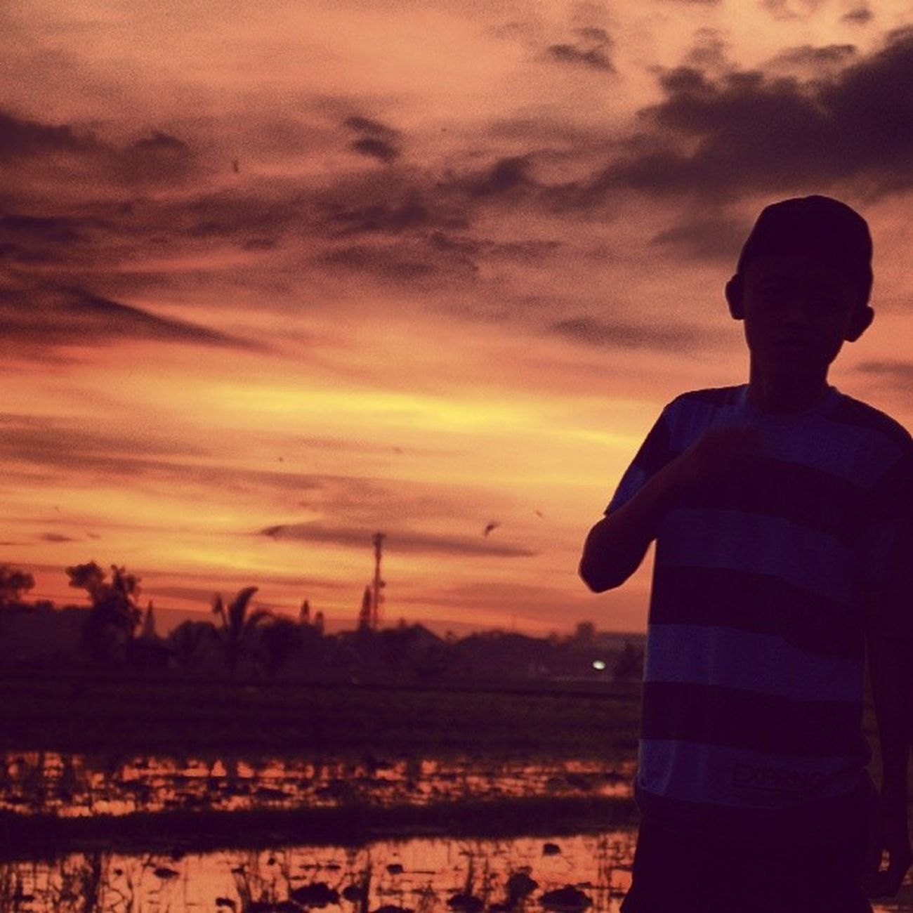 Sunset Tanah Anarki