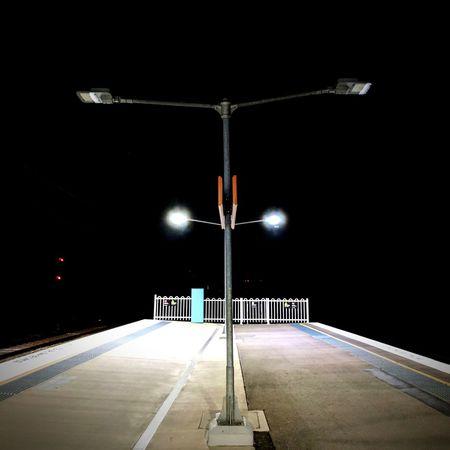 Night Illuminated Street Light No People EyeEm Best Shots Australiagram_mobile EyeEm Best Edits Australia Mobilephotography Sydney Rail Transportation Snapseed