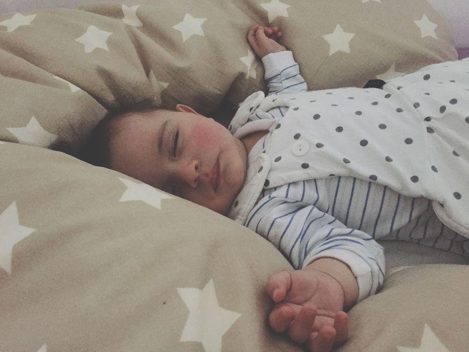 Tired after Babyswimming Babyboy MyBoy