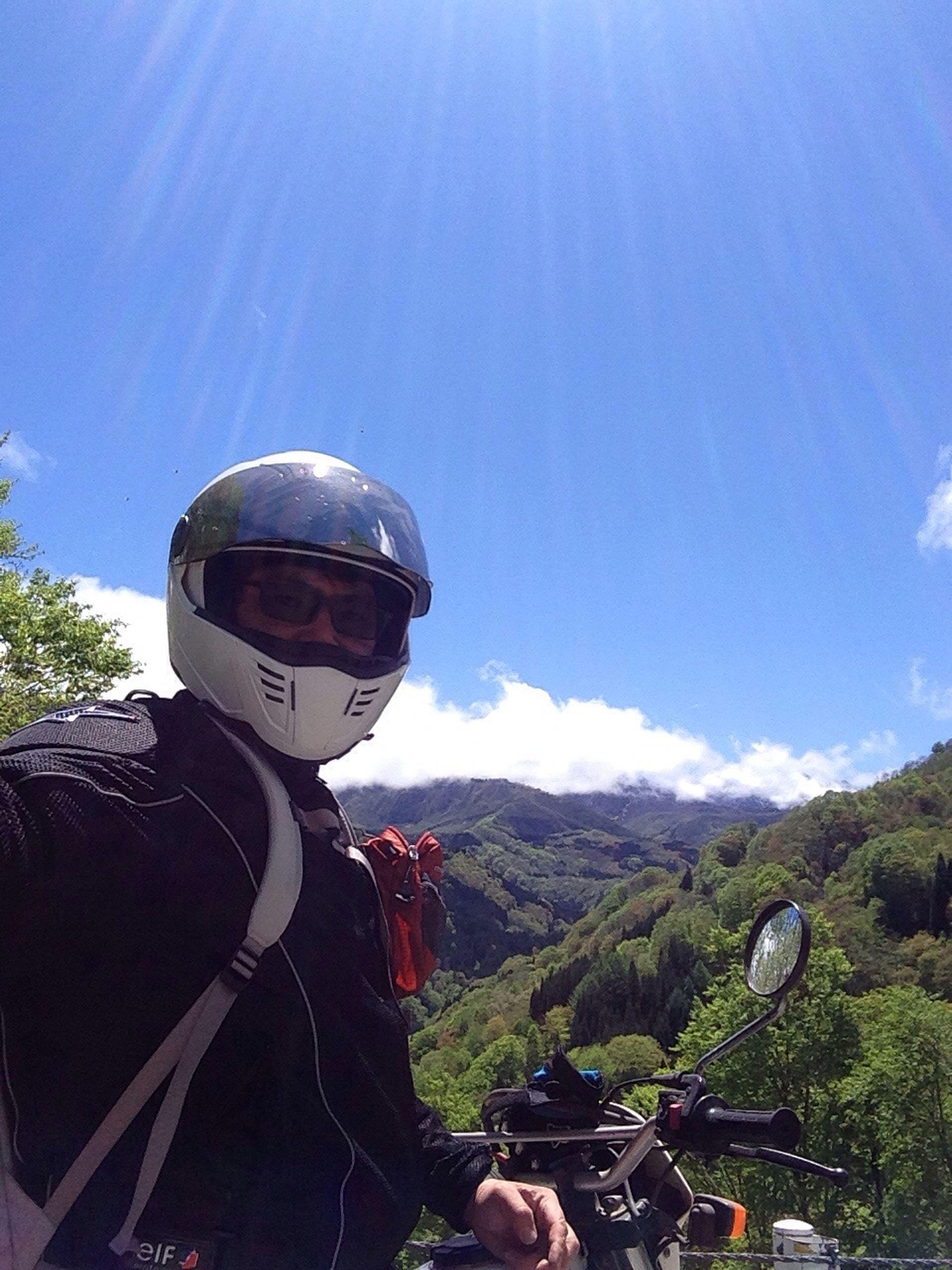 秋山郷 Blues 弾丸ツアー 秋山郷 君と見たい空 お前とは遊ばない Motorcycle ゴールデンウィーク