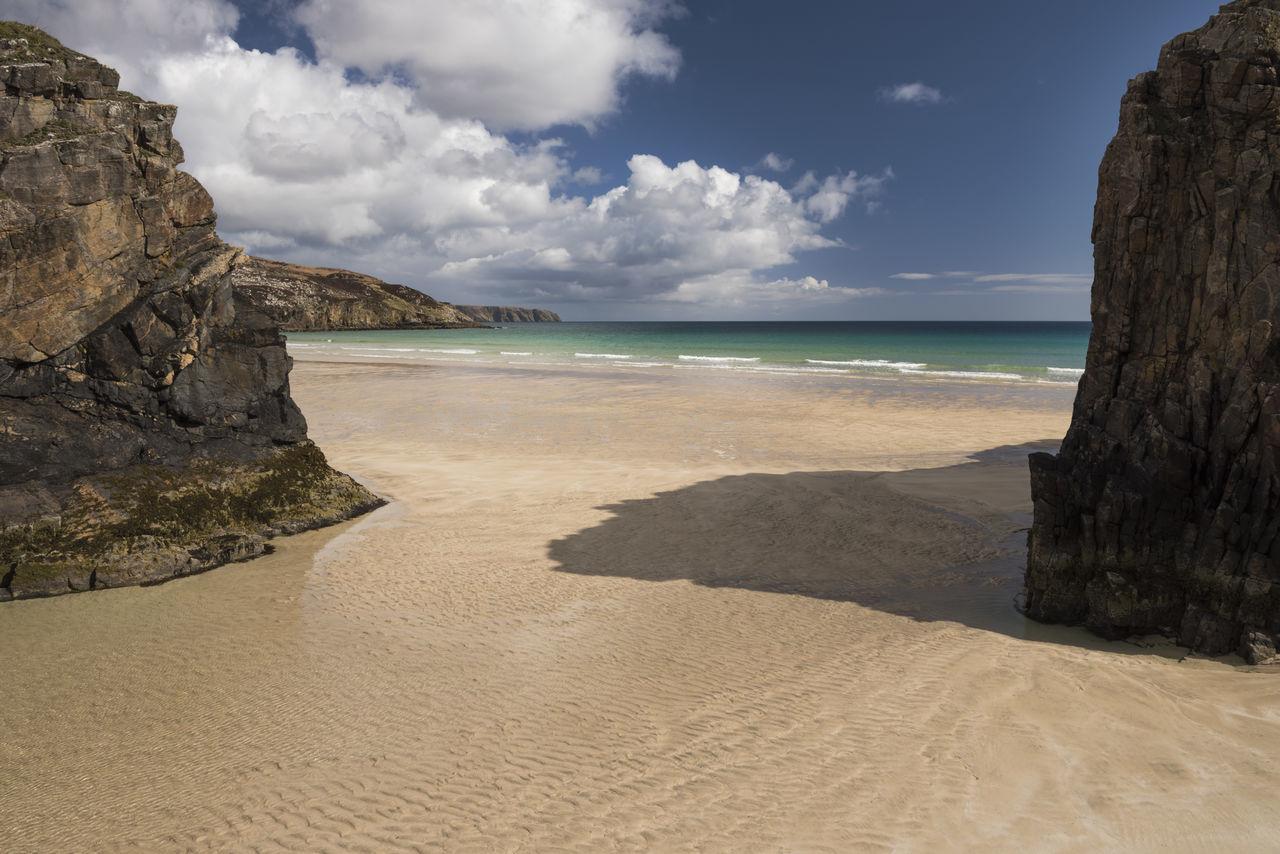 Beautiful stock photos of scotland,  Beach,  Beauty In Nature,  Cloud - Sky,  Coastline