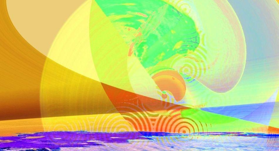Airborne (1 of 3) Abstractions In Colors Digitalart  Icolorama Dream_editors