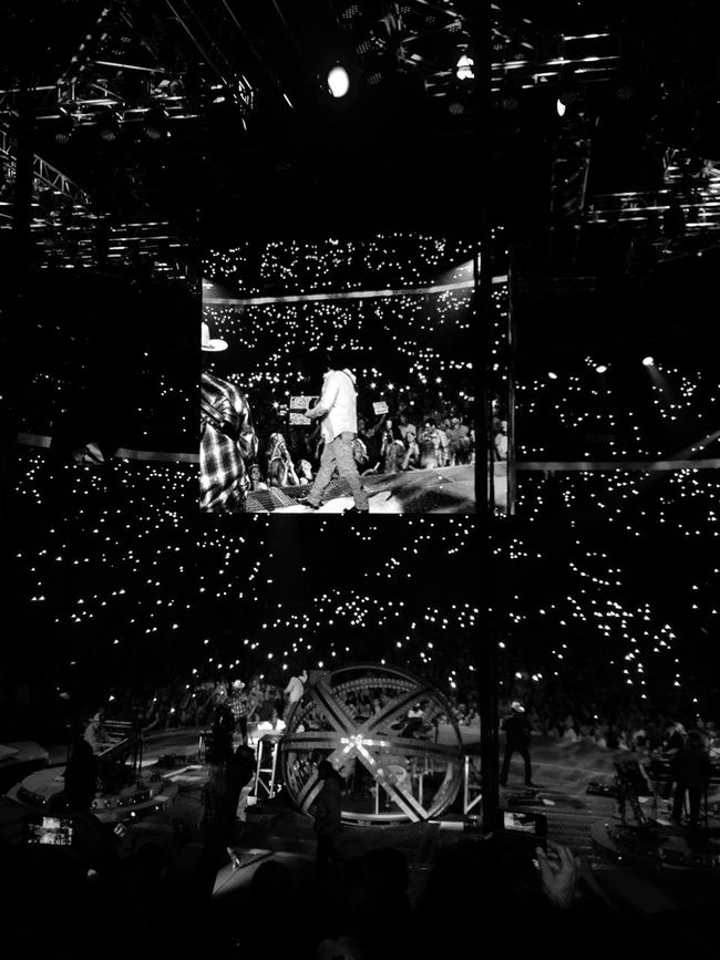 Lights. Garth Brooks World Tour. Knoxville, TN. 2015.5.30 Garthbrooks Concert GarthinKnoxville