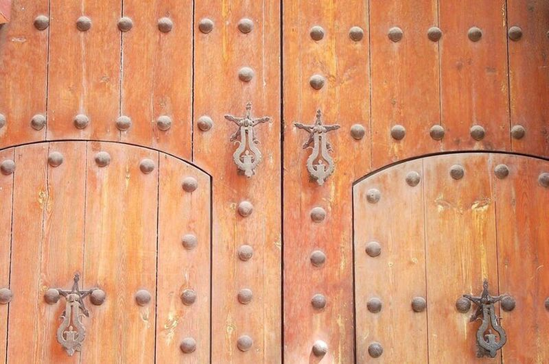 An old and heavy door from Marakesh, Morocco First Eyeem Photo