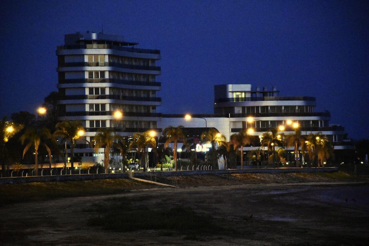 Night Illuminated Architecture Outdoors No People Argentina