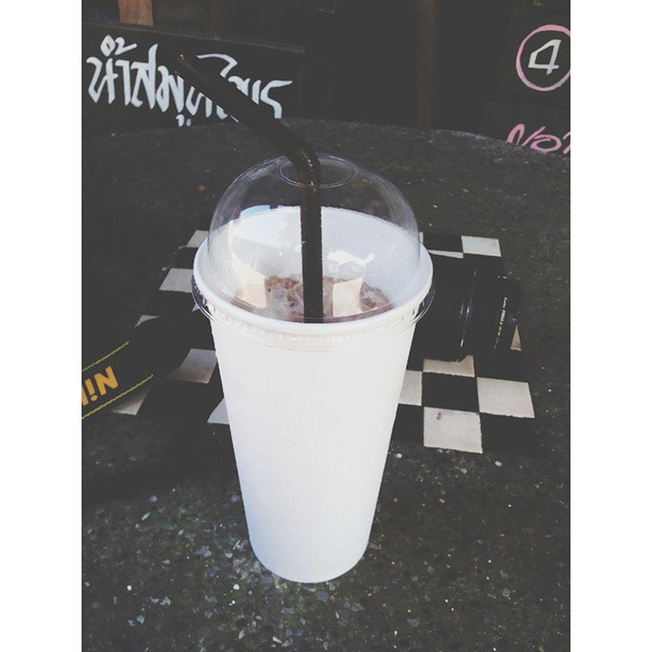Instashot Nocrop สักแก้วไหม ?ครับ โกโก้ปั่น ! ♥♥♥♥♥