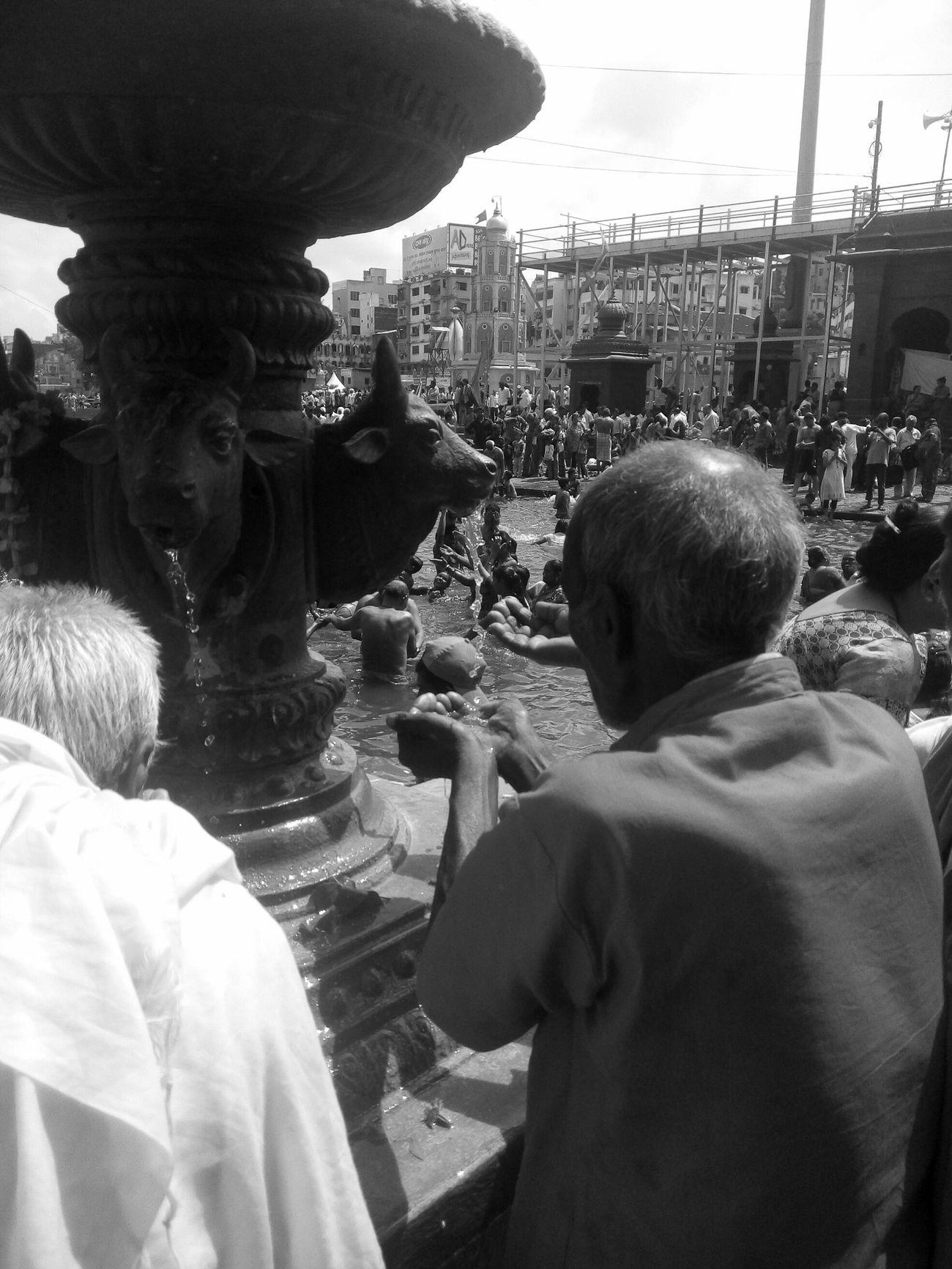 Shades Of Grey Mahakumbh Panchavati Ma Ganaga Gomukh