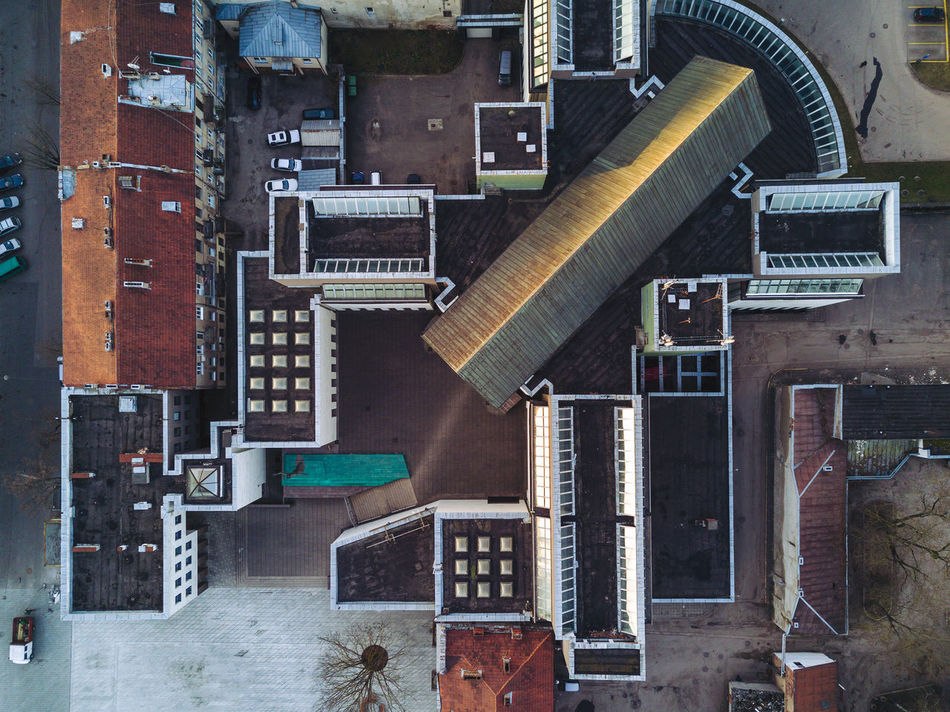 Roofs Aerial View Architecture Buildings Day Drone  Indoors  Landscape Mavic Mavic Pro No People Roof Rooftop Top Down