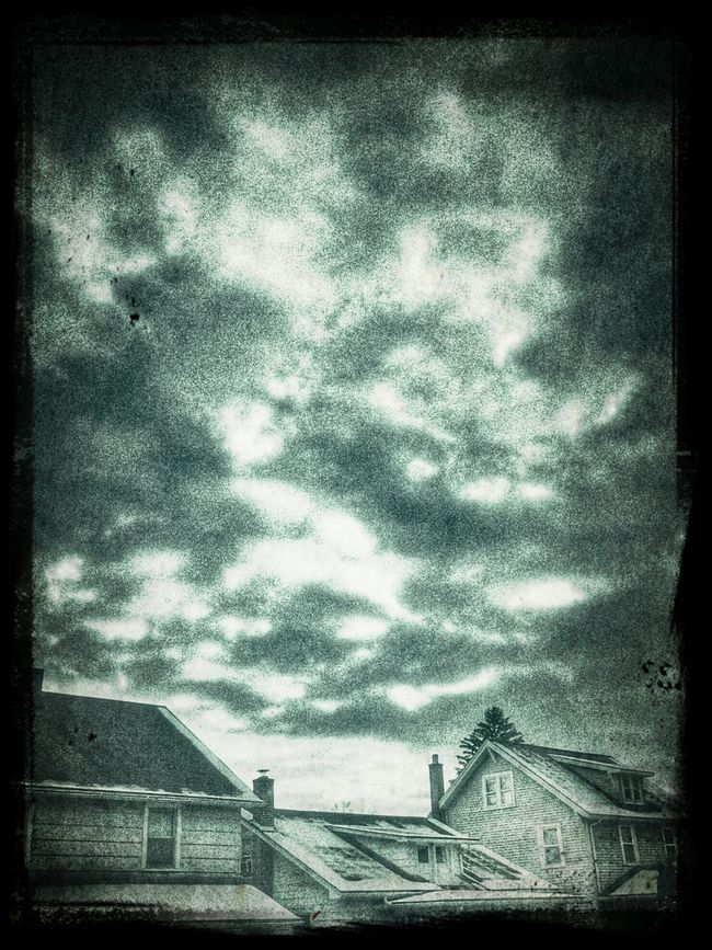 Dark And Dreary .. At This Moment .. Monochrome Monday