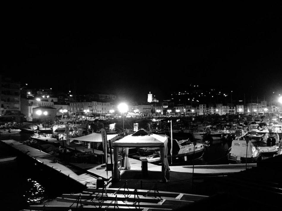 Nightphotography Port Cassis Cassis