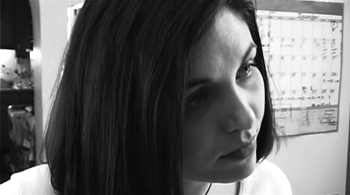 Chris, kitchen Blackandwhite Black & White Brunette Profile Italianesque Natural Beauty Seductive
