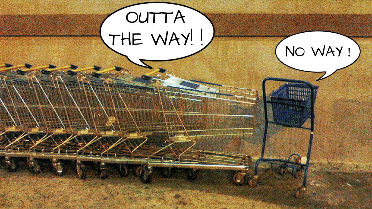 「帰れ!!」「しないよ!」 Shopping Cart ショッピングカート EyeEm Best Edits