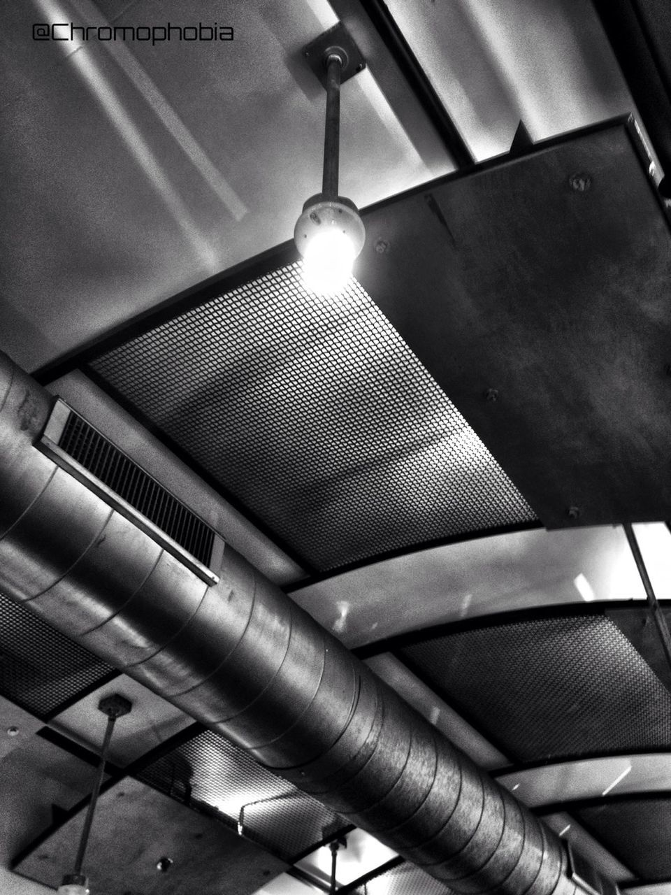 ceiling, indoors, lighting equipment, low angle view, illuminated, no people, technology, electricity, close-up, architecture, day