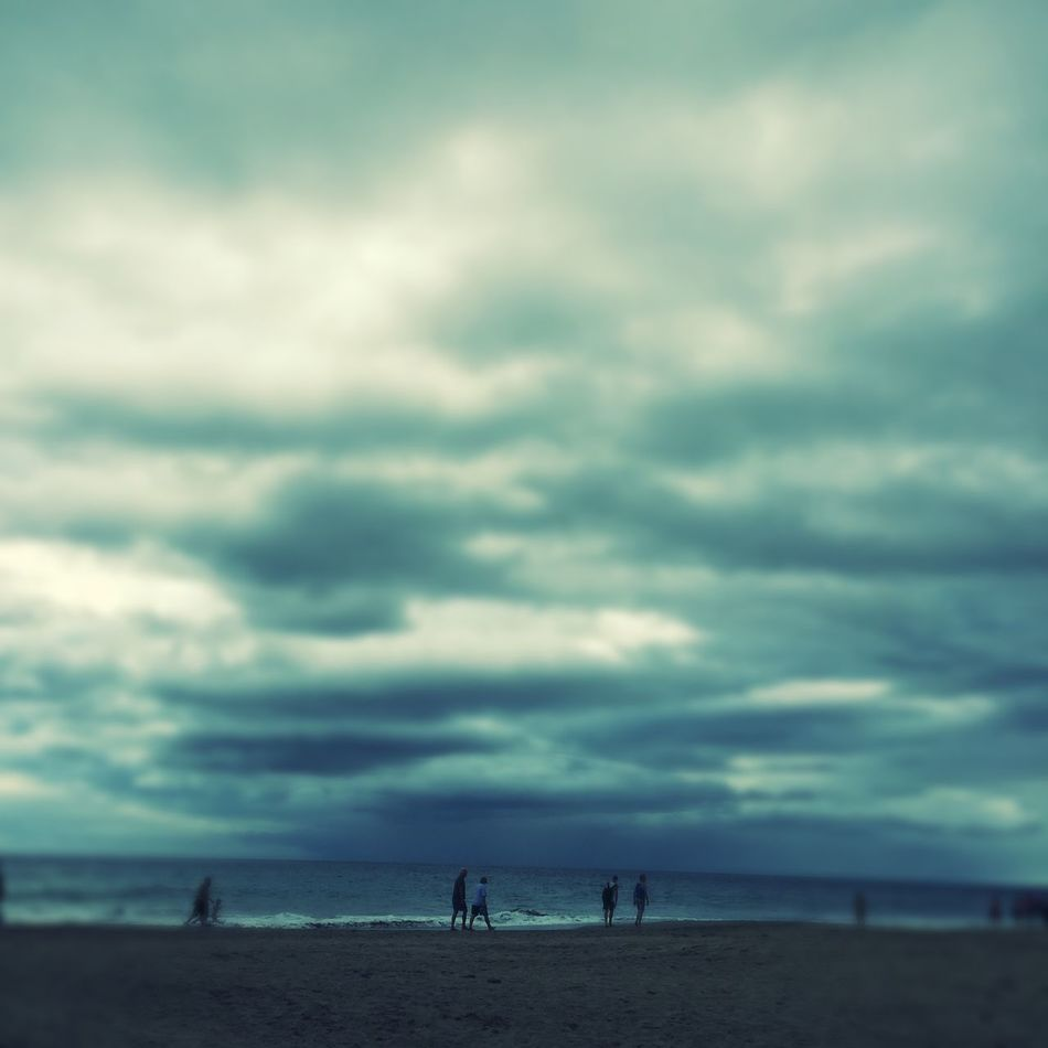 A Day At The Beach Where Is The Sun? Windy Day Gay Beach Gran Canaria Playa Playa De Maspalomas