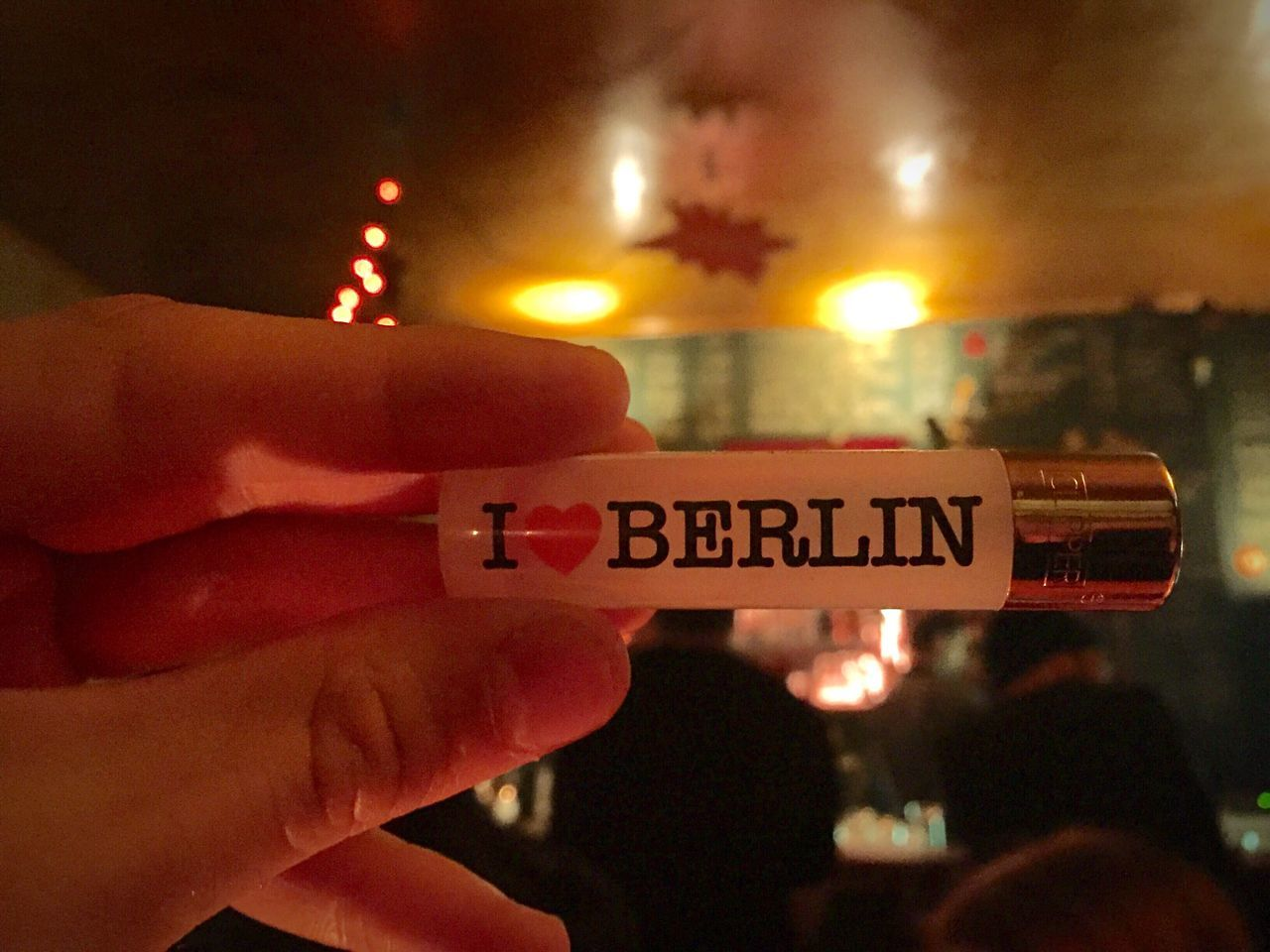 Berlin I ❤️ you Lighter My Fuckin Berlin Berlin Capital Cities  Bar Nightlife Love