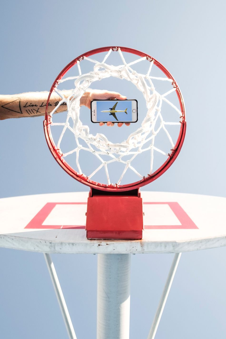 Beautiful stock photos of flugzeug, Airplane, Basketball - Sport, Basketball Hoop, Circle
