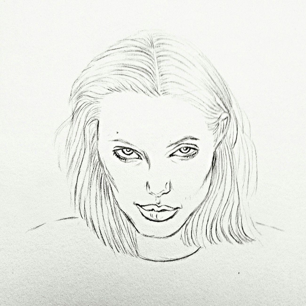 WIP sketch Illustration Drawing ByMe Sketch Sketchbook Angelinajolie