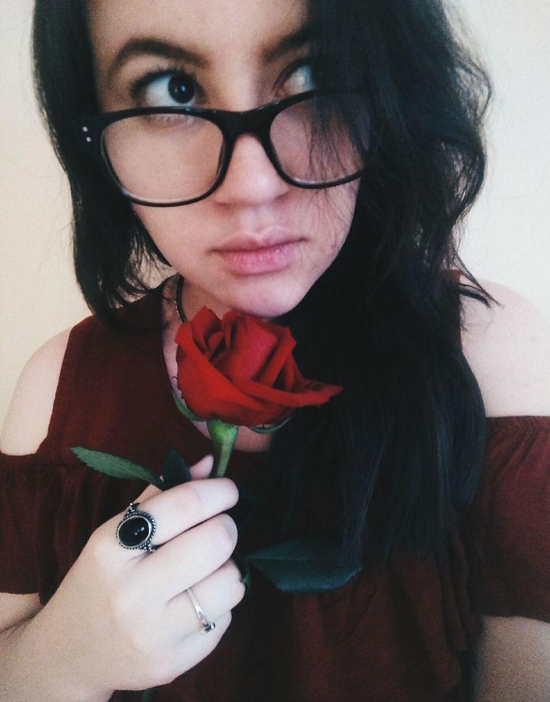 Beauty Flower Rosé Portrait Woman Girl EcuadorianGirl