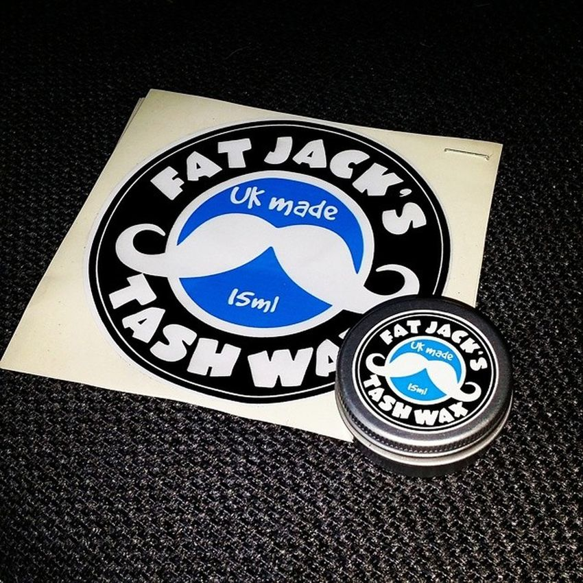 Time to get my Tash in shape @FatJacksTashWax Fantashtic Tash TashWax UKMade FatJacksTashWax Australia RTW Travelling