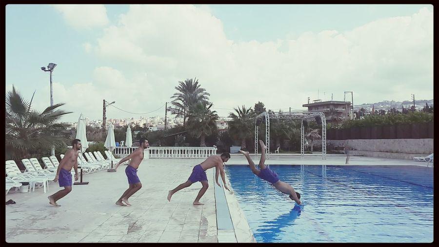 Swimming Drama Shot  Gs4 Hanging Out