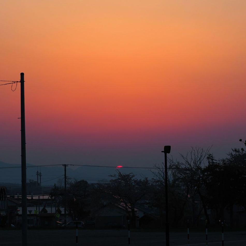いつかの夕陽 無加工Sunset Sunset_collection Sansetlover EyeEm Gallery EyeEm Best Shots Eyemphotography Sky Sky_collection Skylovers 夕陽 風景 Olympus OlympusPEN ミラーレス ミラーレス一眼