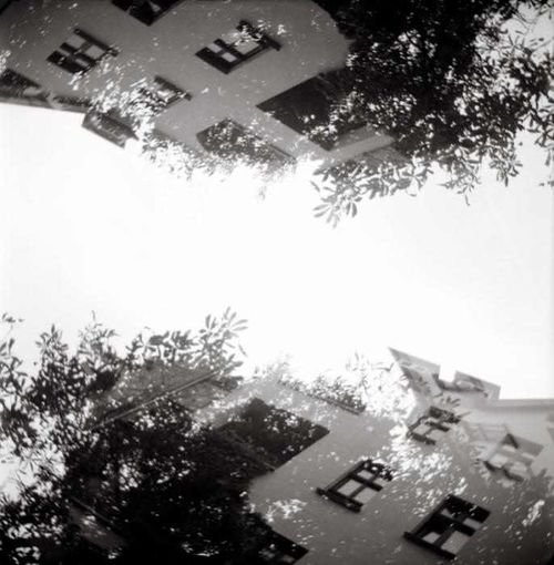 Analogue Photography Real Film Double Exposure Pouva Start Impossible Moments Black&white vis-a-vis