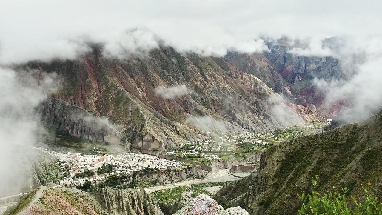 Argentina Mountain View Clouds Landscape Iruya The Andes Mountain Landscapes With WhiteWall My Favorite Photo