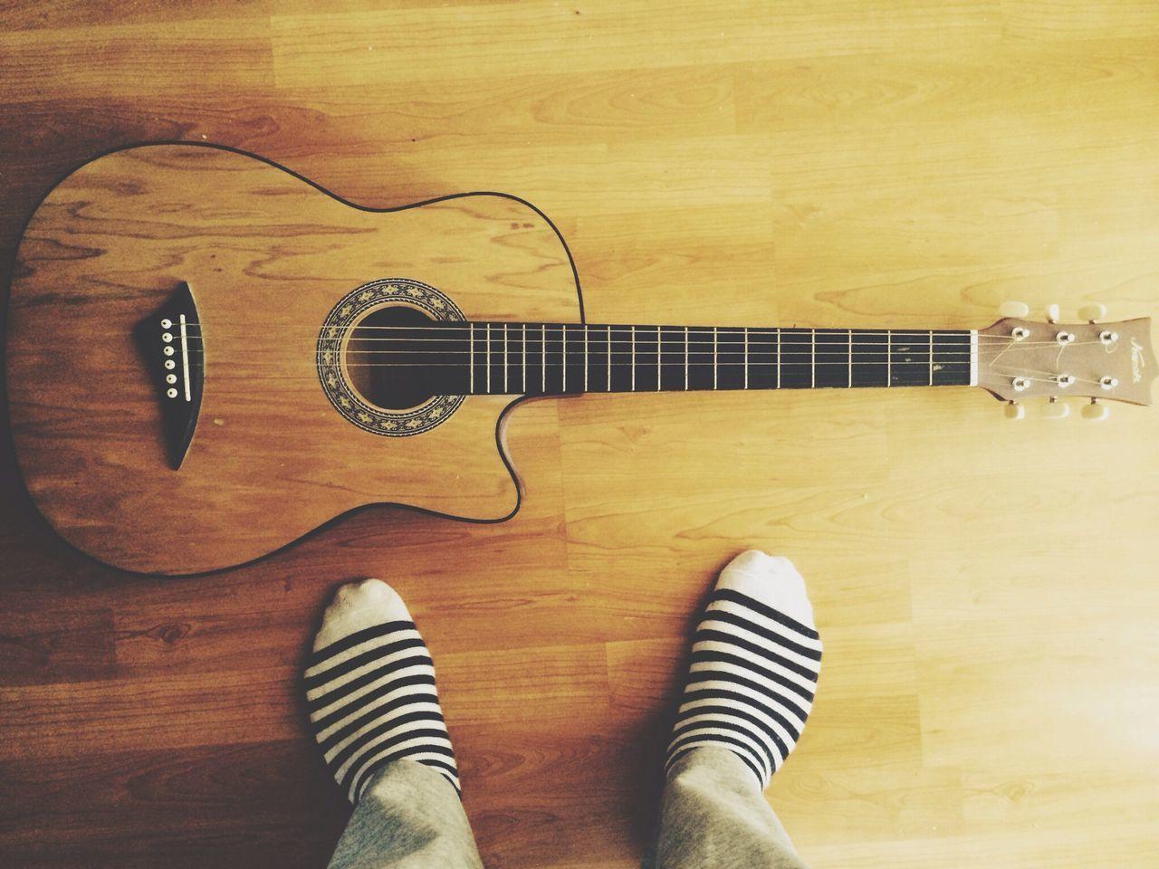 Beautiful stock photos of guitar, Arts Culture And Entertainment, Floor, Guitar, Human Foot