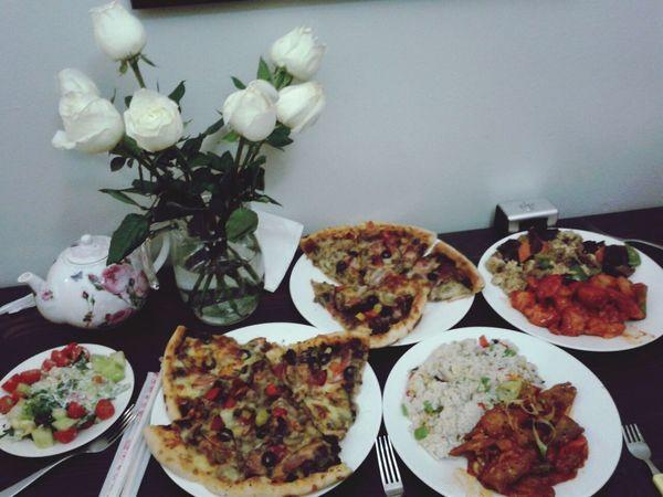 Food Roses Sweet Beauty